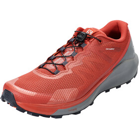 Salomon Sense Ride 3 Sko Herrer, goji berry/lunar rock/red orange